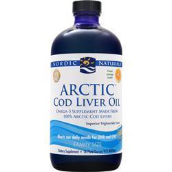 Nordic Natural Arctic Cod Liver Oil - ORANGE 16 Ounces
