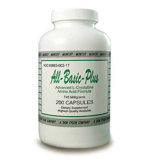 All Basic Plus Advanced Amino Acid Formula