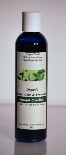 Fungal Candida Body Wash & Shampoo NOW Called Tea Tree Lemon Balm Body Wash & Shampoo