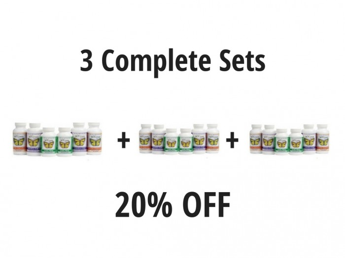 20% Off 3 Complete Sets - Free Shipping