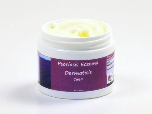 Psoriasis Eczema Dermatitis Cream with Sea Buckthorn, Zinc & Evening Primrose