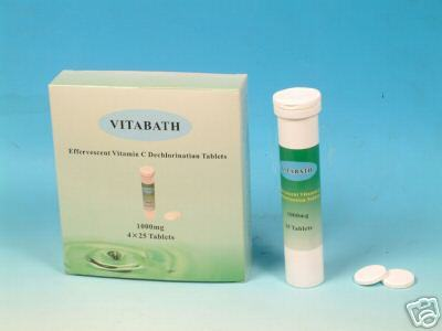 Vitamin C Dechlorination Bath Tablets